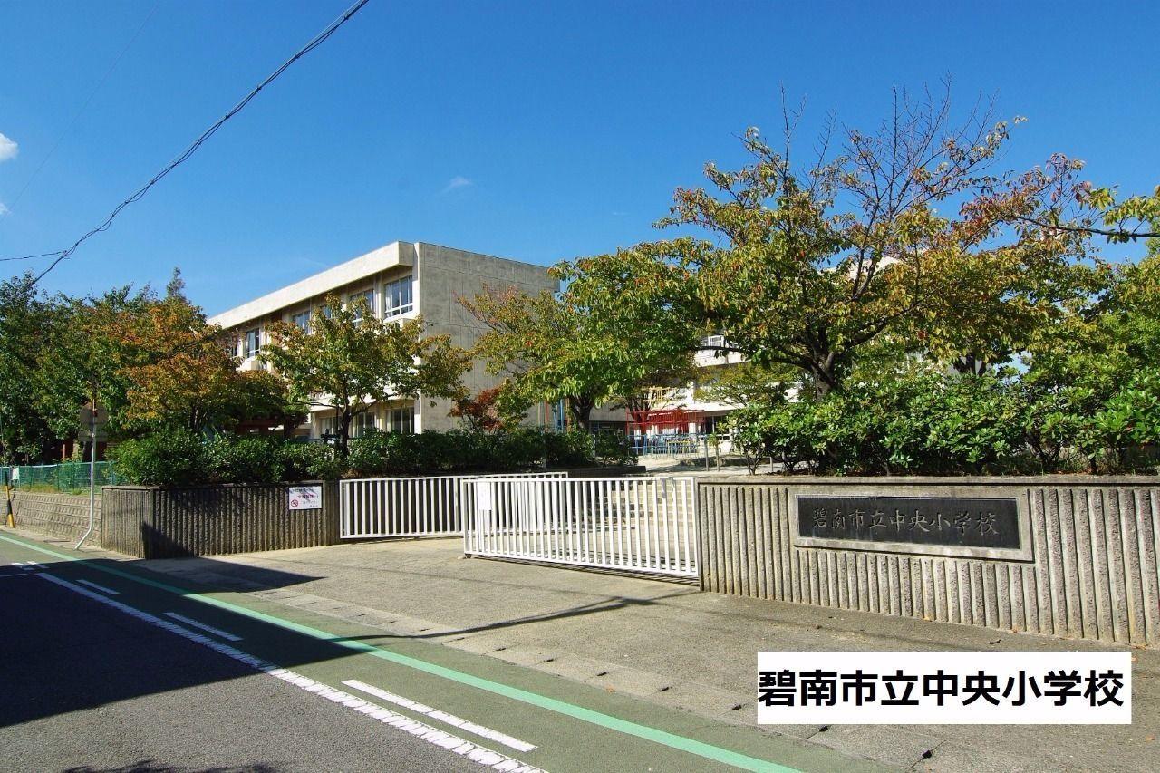 中央地域の小学校