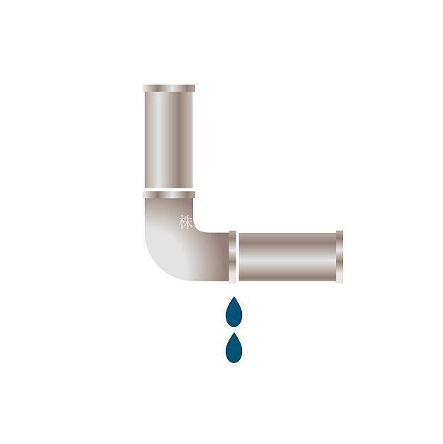 壁から水漏れ